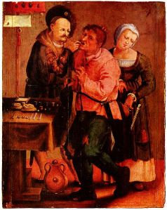 Farmer at the dentist _ Johann Liss