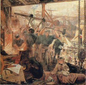 Iron and Coal by William Bell Scott