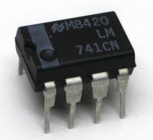 LM741CN Amp