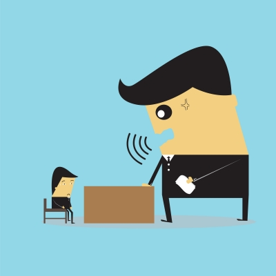 Boss-Employee Mindless Conversation